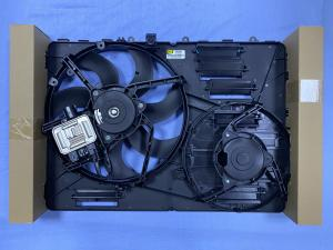China LR044833 Radiator Fan Assembly With Control Module on sale