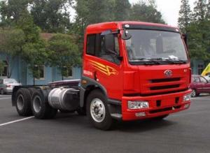 China JIEFANG FAW J5M 6x4 251-350hp Euro 3 Tractor Truck For Heavy Duty on sale