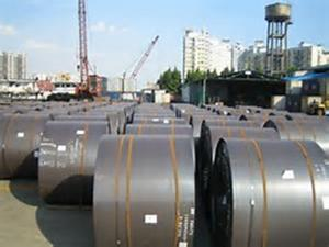 China Thickness 3 - 16mm HR Steel Coil, Black Surface Hot Rolled Steel SheetCoil on sale