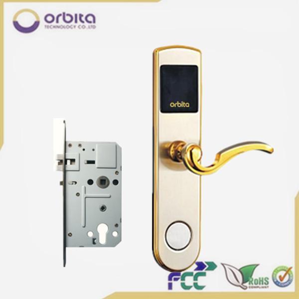 12V innovative delux digital vingcard hotel door lock, hotel access
