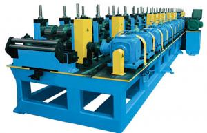 China C Z Purlin Roofing Sheet Roll Forming Machine , 30KW Motor Roof Panel Roll Forming Machine on sale