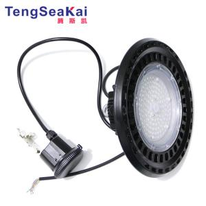 China Radar induction sensor led  high bay light 200W ufo led industrial lighting fixturer on sale
