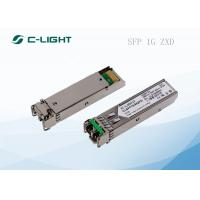 1.25G GE SFP Optical Transceiver 80km ZX 1550nm Network Module