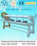 Pedazos rotatorios automáticos/minuto de la máquina 0 - 60 de Slotter de la caja del cartón de cuatro vínculos