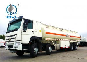 China 25000L Oil Tanker Trailer 8X4 , HOWO Water Tanker Truck  30000liters 25000liters new Sinotruk fuel tank trucks on sale