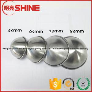 China factory direct supply 304 stainless steel bathroom accessories bath bomb mold 85mm 75mm 45mm 65mm on sale