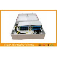 Mini 1 / 32 PLC Fiber Optic Splitter Box For FTTX ODN PON Network GPDB-S32D