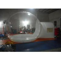4M Diameter Inflatable Clear Bubble Tent , Inflatable Transparent PVC Dome Tent