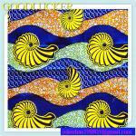 tela 100% africana verídico do cetim do fato do algodão 24*24 da cera