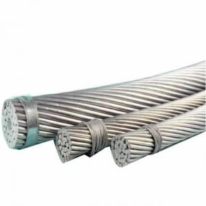 China Aluminum ACSR Conductor Overhead Power Transimission Steel Core Bare Cable on sale