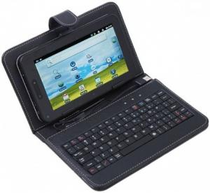 China hot sale OEM tablet pc external keyboard  ,silicon tablet pc keyboar with case cover on sale