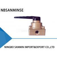 1/8 1/4 3/8 Drawing Pneumatic Mechanical Valve Hand Switching NBSANMINSE HV200-02 HV300-03 HV400-04