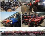 China Factory Supply 100HP 4X4 Wheel Th1004 Small/Min Agricultural Machinery Farm  mini farm tractor  steering hydraulic