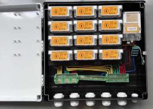 China DIN Rail Mounting PLC Power Meter Box , Keypad Split Electric Meter Box Replacement on sale