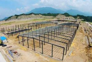 China Logistics Warehouse PEB Steel Buildings / Pre Engineered Building Structure on sale