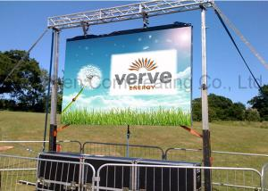 China Stage Background Rental HD P4.81 Outdoor Full Color LED Concert Screens LED Die Cast Cabinet Video Display on sale