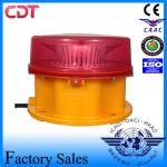 Anti-Corrosion Red Aircraft Warning Lighting Building Type B Medium Intensity 2000cd Telecom Tower Obstruction Light