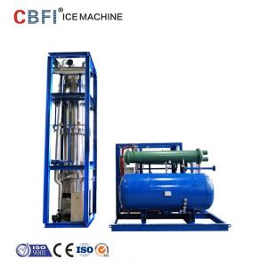 China Low Power Consumption Ice Tube Machine For Supermarkets / Cold Drink Shops on sale