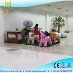 Las vespas animales eléctricas de la alameda de los niños del CE de Hansel motorizaron animales del montar a caballo de la felpa