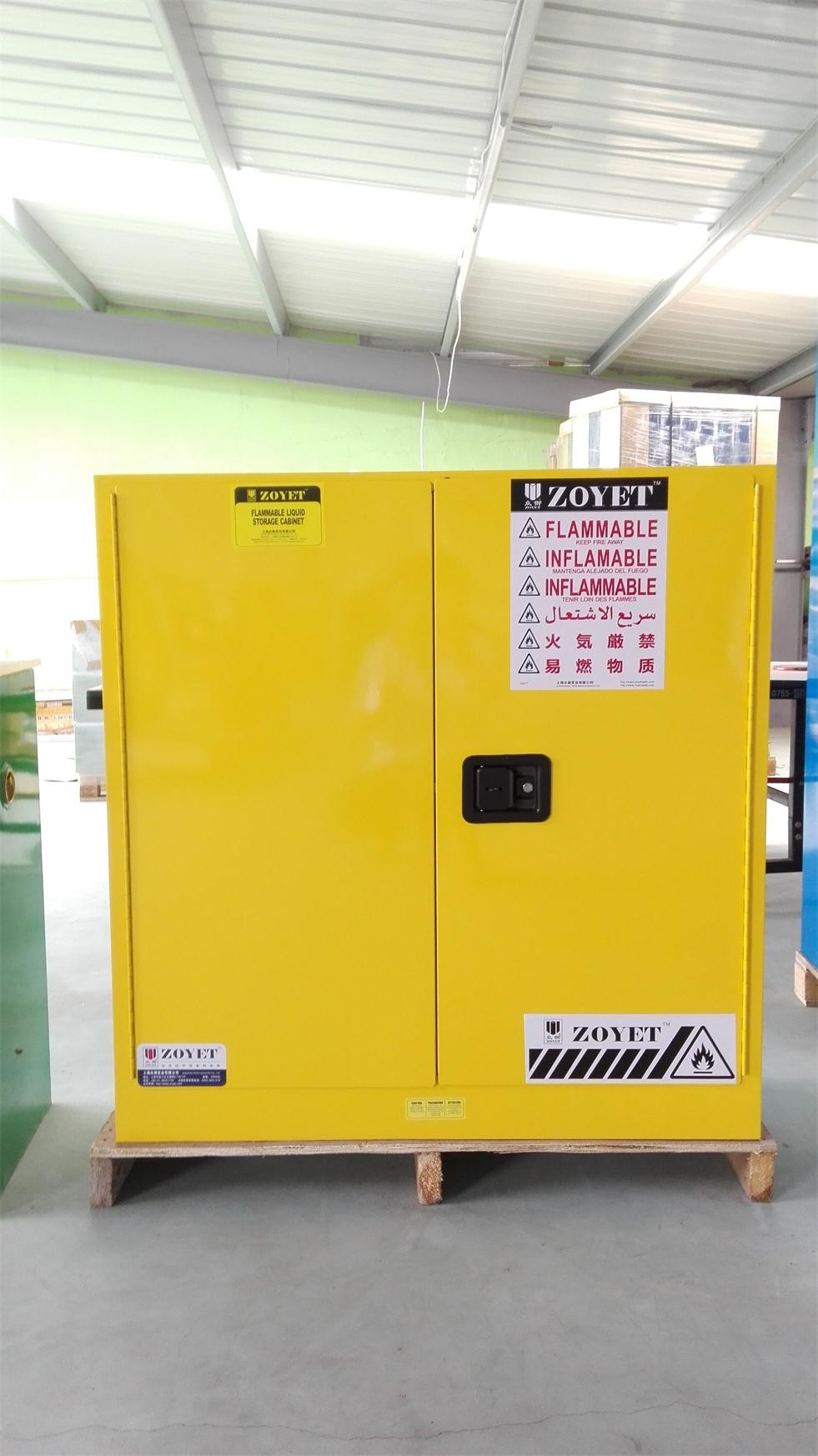 Cold Rolling Steel Oil Drum Storage Cabinets 1650 1500 860mm