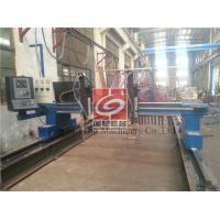 CNC / Strip Oxy - fuel Cutting Machine , American Hypertherm EDGE PRO CNC System