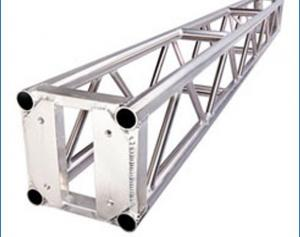 China Compact 6082 T6 Aluminum Stage Truss , Strength Aluminium Box Truss 520x760x1000 mm on sale
