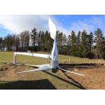220v On Grid Wind Turbine , Single Phase Wind Generator With Nylon Glass Fiber 5 Blade