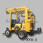 China xyx-3 trailer mounted versatile drilling rig , hydraulic drill tower wholesale
