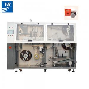 China 3g-10g inner and outer bag packing machine automatic coffee pod filter round shape on sale