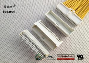 China Receptacle Housing 2mm Pitch Connector Dual Row White Color With 38 Pin on sale