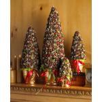 контейнер рождества этикеты деревянный упаковывая