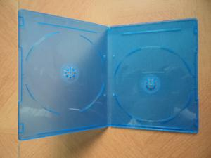 China 5MM  DOUBLE  BLUE RAY  DVD Case DVD box dvd cover (YP-D866H) on sale