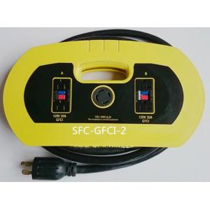 China Universal Generator Auto Retractable Extension Cord Reel , Flexible Power Cable on sale