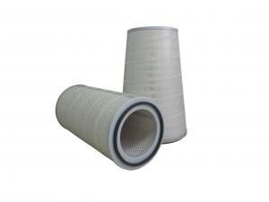 China Cylindrical Canister Gas Turbine Air Filter , Cellulose Activated Carbon Filter on sale