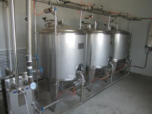 China Security 3000L Cip Clean In Place Piping Washing Juice Beverage Tank on sale