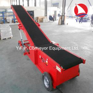 Auto Walking Container Loading Belt Conveyor for sale