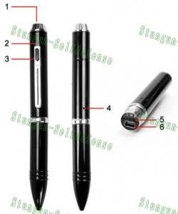 China Spy pen 8GB HD 720P Camera DVR, Spy camera /pinhole camera  on sale