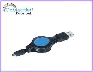 China Câble escamotable de Cableader USB, mâle d'A à se relier à grande vitesse de données de prise du hirose 4P on sale