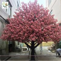 UVG 4m Indoor home artificial cherry blossom landscape trees for birthday party decoration