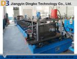 Pre Cutting Later Punching Cable Tray Roll Forming Machine Automatic Controlled By PLC System