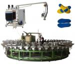 PU rotary production line for pu slipper and sandals manufacturing