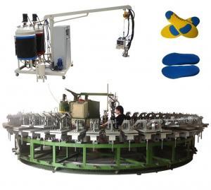 China Polyurethane sport shoes dress shoes pu foam injection machine on sale