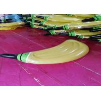 Yellow Inflatable Water Floats Banana Pool Float Durable PVC Material