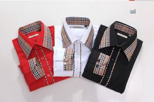 China Top quality Mens Burberry Shirts,New arrvial Gentlemens Designer Shirts at wholesale price on sale