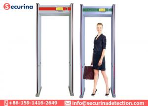 China Low Radiation Archway Walk Through Metal Detector 15 Watt For Airport Security on sale