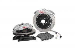 China Audi RS4 RS5 RS6 BBK Big Brake Kit  6 Piston Forged Two Pieces Caliper 19 Inch Wheel Front on sale
