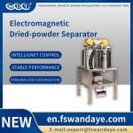 Dry Magnetic Separator Machine For Micro Iron Powder / Magnetic Substance feldspar powder quartz plastic particles