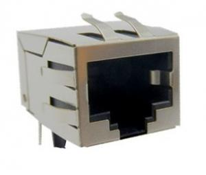 China Single port 10 / 100 Base Integrated Tab Up RJ45 with Transformers for PCMCIA Net Card on sale