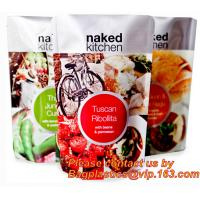 Seasoning powder flour condiment plastic stand up pouch soup spice packaging bag with window,Soup Packaging Bag, Retort