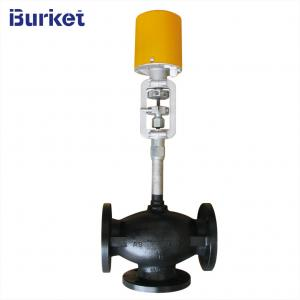 China Electric Actuator Heat conduction oil Control Valve For Setting machine on sale
